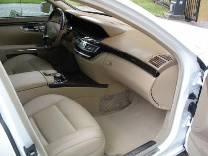 2012 MERCEDES BENZ S350 BLUETECH - WHITE ON BEIGE 5