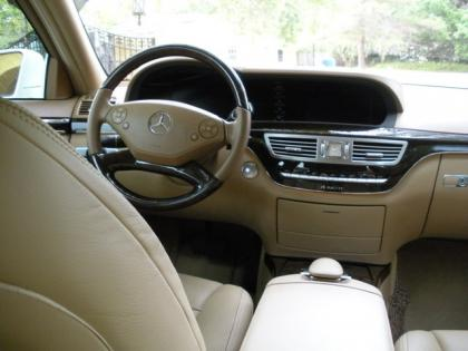 2012 MERCEDES BENZ S350 BLUETECH - WHITE ON BEIGE 6