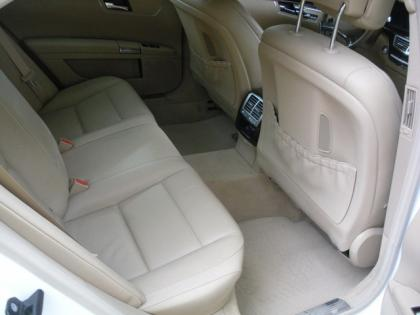2012 MERCEDES BENZ S350 BLUETECH - WHITE ON BEIGE 7