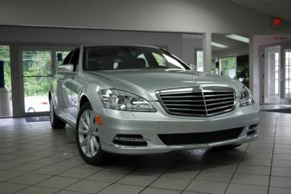 2012 MERCEDES BENZ S350 BLUETEC 4MATIC - SILVER ON BLACK