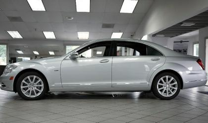 2012 MERCEDES BENZ S350 BLUETEC 4MATIC - SILVER ON BLACK 3