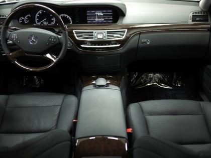 2012 MERCEDES BENZ S350 BLUETEC 4MATIC - SILVER ON BLACK 4