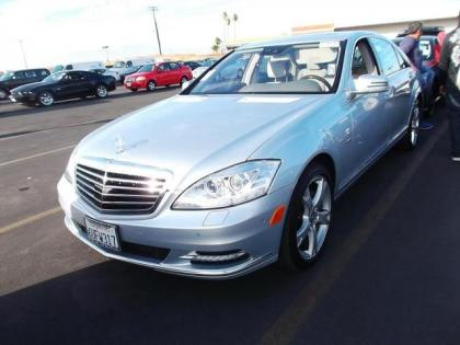 2012 MERCEDES BENZ S350 BLUETECH - SILVER ON GRAY 1