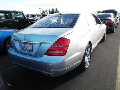 2012 MERCEDES BENZ S350 BLUETECH - SILVER ON GRAY 2