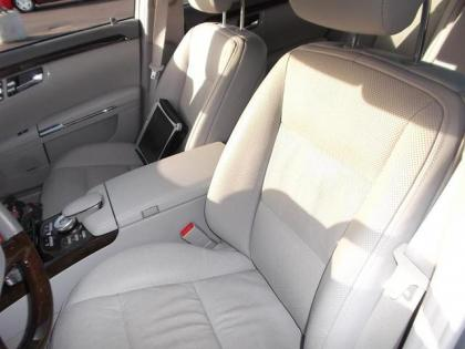 2012 MERCEDES BENZ S350 BLUETECH - SILVER ON GRAY 4
