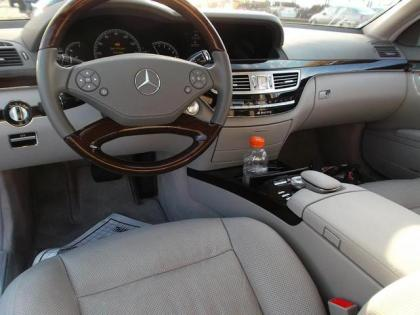 2012 MERCEDES BENZ S350 BLUETECH - SILVER ON GRAY 6