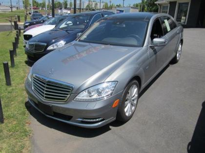 2012 MERCEDES BENZ S350 BLUETECH - GRAY ON BLACK