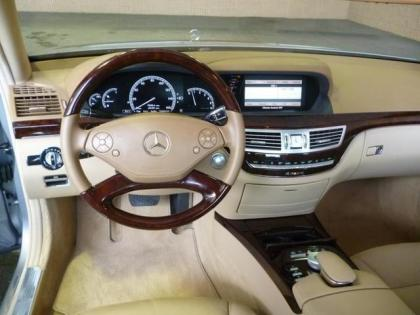 2012 MERCEDES BENZ S350 BLUETECH - BLUE ON BEIGE 3