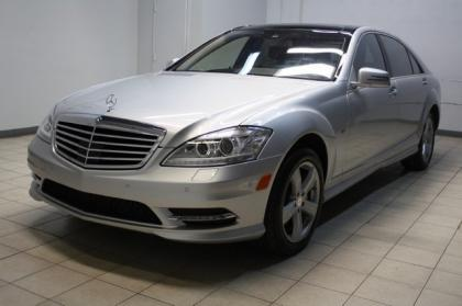 2012 MERCEDES BENZ S350 BLUETECH - SILVER ON BLACK