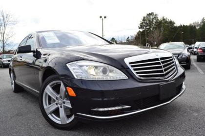 2010 MERCEDES BENZ S550 4MATIC - BLACK ON BEIGE
