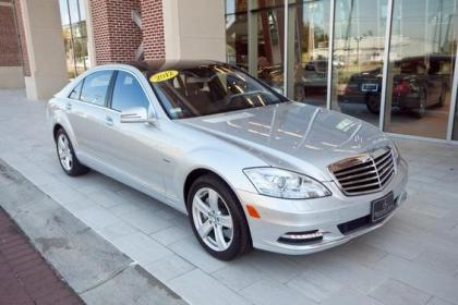 2012 MERCEDES BENZ S550 V4 - SILVER ON BLACK 2