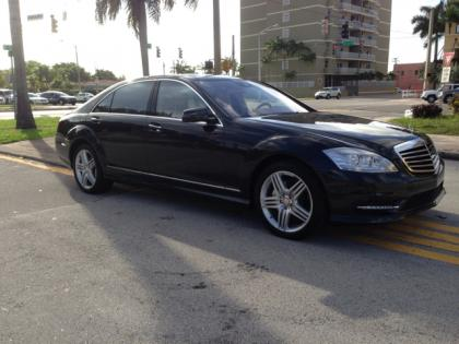2013 MERCEDES BENZ S550 4MATIC - BLACK ON BEIGE