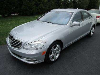 2012 MERCEDES BENZ S550 4MATIC - SILVER ON BLACK 2