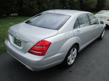2012 MERCEDES BENZ S550 4MATIC - SILVER ON BLACK 3