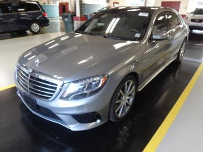 2015 MERCEDES BENZ S63 AMG - SILVER ON BLACK