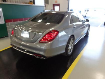 2015 MERCEDES BENZ S63 AMG - SILVER ON BLACK 2