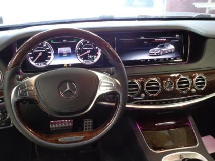2015 MERCEDES BENZ S63 AMG - SILVER ON BLACK 4