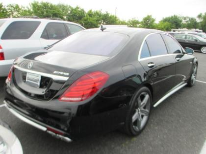 2015 MERCEDES BENZ S63 AMG - BLACK ON BEIGE 2