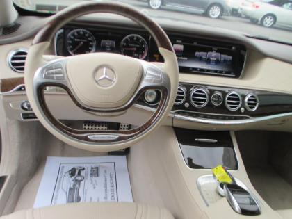 2015 MERCEDES BENZ S63 AMG - BLACK ON BEIGE 4