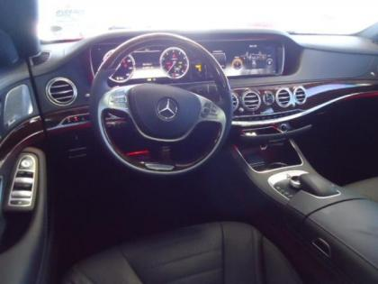 ... 2014 MERCEDES BENZ S550 BASE   SILVER ON BLACK 4 ...