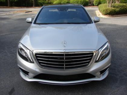 2014 MERCEDES BENZ S550 BASE - SILVER ON BLACK 3