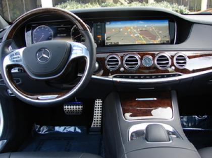 2014 MERCEDES BENZ S550 BASE - SILVER ON BLACK 5