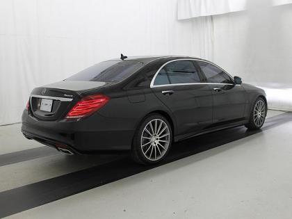 2015 MERCEDES BENZ S550 BASE - BLACK ON BLACK 2