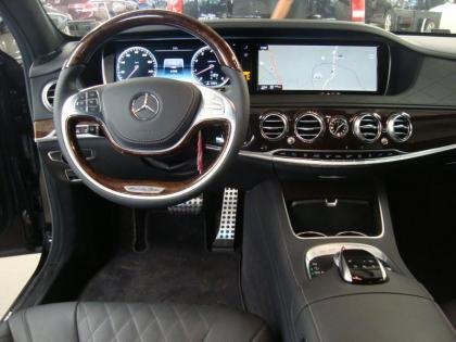 2015 MERCEDES BENZ S550 BASE - BLACK ON BLACK 4