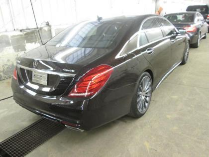 2015 MERCEDES BENZ S550 4MATIC - BLACK ON BLACK 2