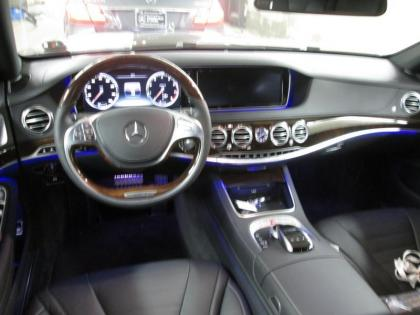 2015 MERCEDES BENZ S550 4MATIC - BLACK ON BLACK 3