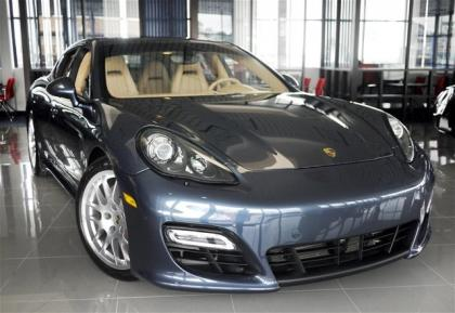 2013 PORSCHE PANAMERA GTS - GRAY ON BEIGE