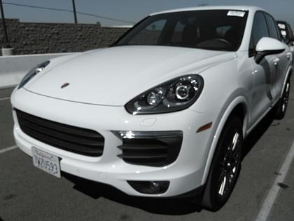 2017 PORSCHE CAYENNE BASE - WHITE ON BLACK