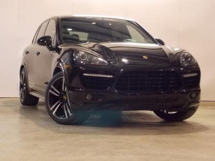 2014 PORSCHE CAYENNE TURBO S - BLACK ON BLACK
