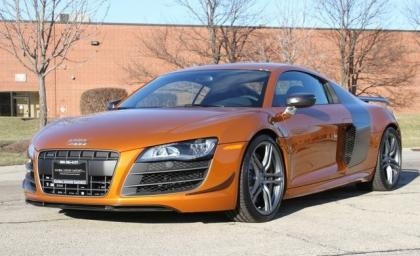 2012 AUDI R8 GT - ORANGE ON BLACK