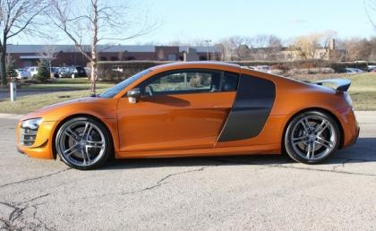 Export Used 2012 Audi R8 Gt Orange On Black