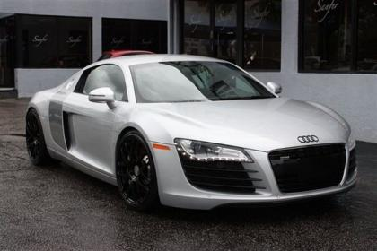 2008 AUDI R8 R-TRONIC - SILVER ON BLACK