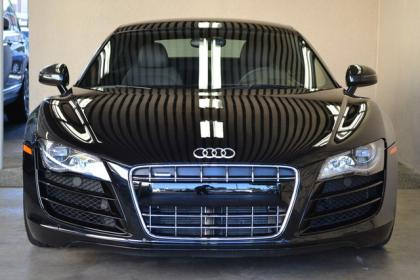 2012 AUDI R8 BASE - BLACK ON BLACK 2