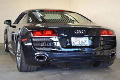 2012 AUDI R8 BASE - BLACK ON BLACK 4