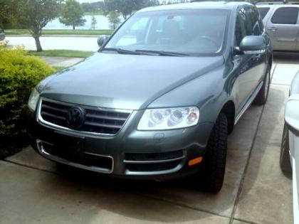 2004 VW TOUAREG V8 - GRAY ON BEIGE