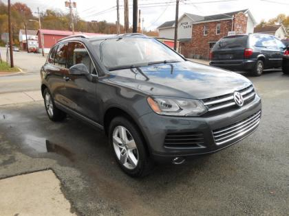 2013 VW TOUAREG TDI - GRAY ON BLACK