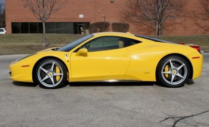 Export Used 2013 Ferrari 458 Italia Base Yellow On Beige