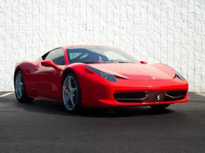 2011 FERRARI 458 ITALIA BASE - RED ON RED/BLACK 1