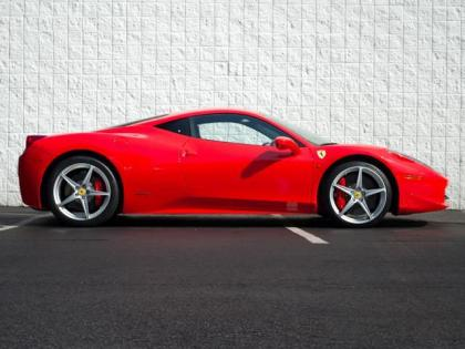 2011 FERRARI 458 ITALIA BASE - RED ON RED/BLACK 2
