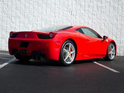 2011 FERRARI 458 ITALIA BASE - RED ON RED/BLACK 3