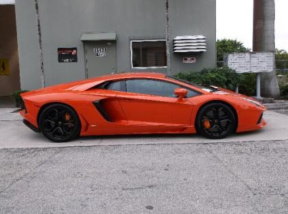 2012 LAMBORGHINI AVENTADOR LP700-4 - ORANGE ON BLACK 3