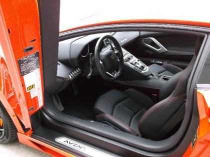 2012 LAMBORGHINI AVENTADOR LP700-4 - ORANGE ON BLACK 5