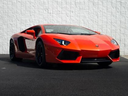 2012 LAMBORGHINI AVENTADOR LP700-4 - ORANGE ON BLACK/ORANGE