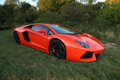 2012 LAMBORGHINI AVENTADOR LP700 - ORANGE ON ORANGE