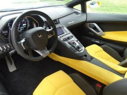 2012 LAMBORGHINI AVENTADOR LP700-4 - YELLOW ON YELLOW 4