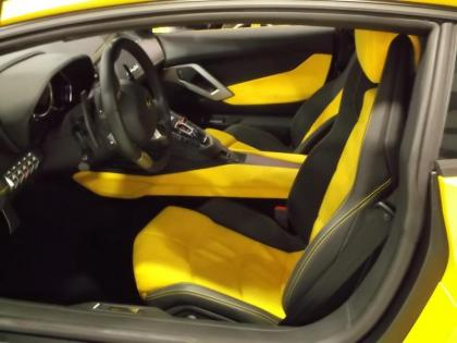 2012 LAMBORGHINI AVENTADOR LP700-4 - YELLOW ON YELLOW 6